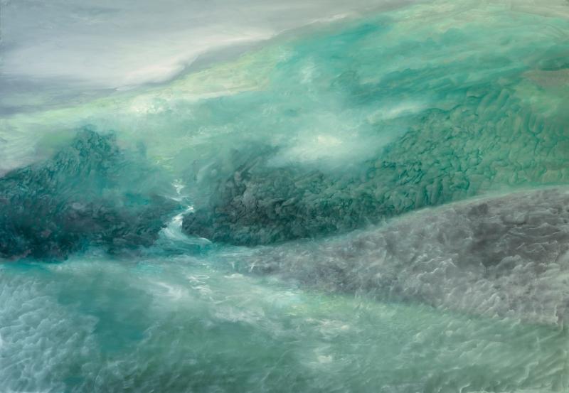 21 Naissance d'un fleuve 2012 huile sur toile 81x116cm 1920 72 dpi