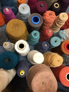 Variety of yarns