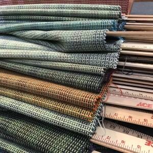 Handwoven Green Fabric