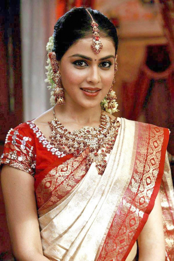 Tamil Actress Bridal Saree Gallery Collections 2012 2012