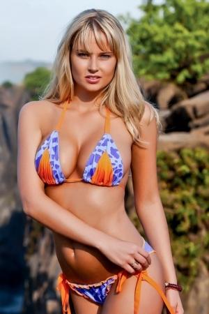Genevieve Morton Hot Bikini Photos