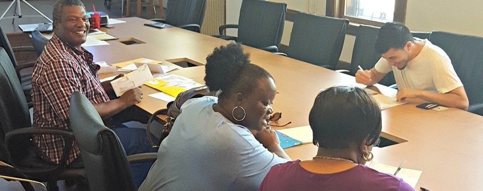 Brenda Brown hosts orientation at ACTS Central