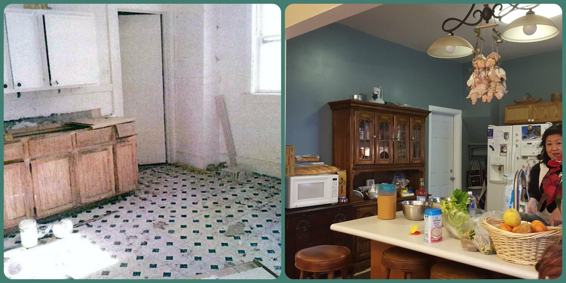 Lee Family's Kitchen: Before & After