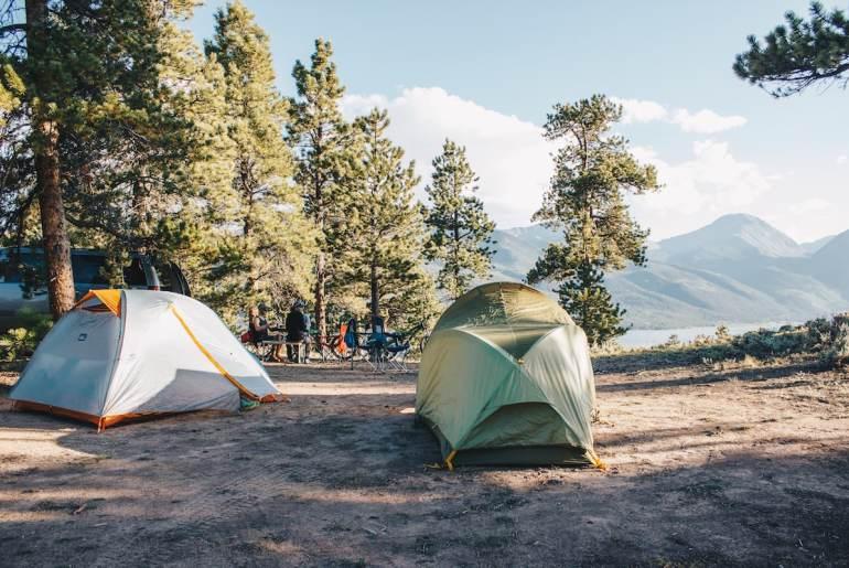 twin lakes camping colorado