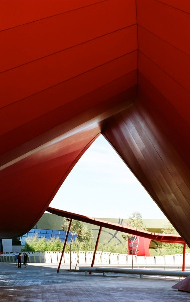 Museum,-red-arch-4
