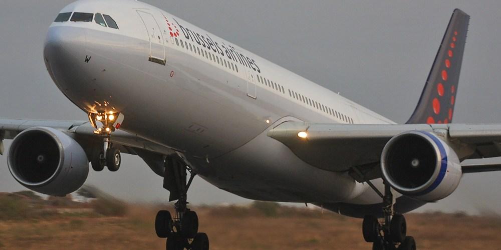 Airbus A330 de Brussels Airlines au décollage