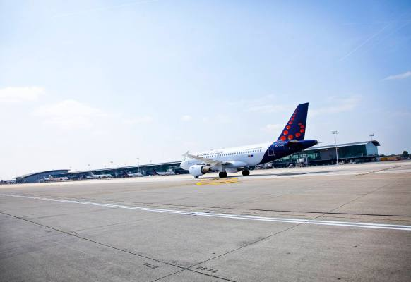 Brussels Airlines Pier A - ©BrusselsAirport sous CC BY-SA 2.0
