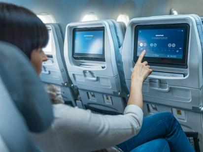 Système de divertissement et écran tactile de la classe Economy à bord des A350 Finnair