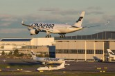A350 Finnair à l'atterrissage