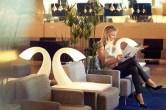 Salon lounge Finnair à Helsinki