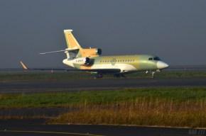 Dassault Aviation Falcon No painting (c) AAF_Aviation