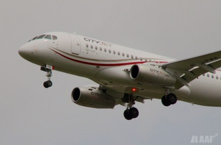 CityJet Soukhoï Superjet 100 - BOD - AAF_Aviation