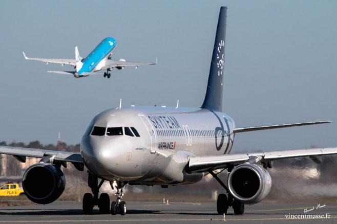 A320 pour Air France et B737 pour KLM