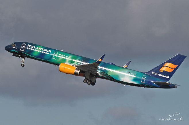 B757 Icelandair > ©Vincent Massé > Tous droits réservé, reproduction interdite