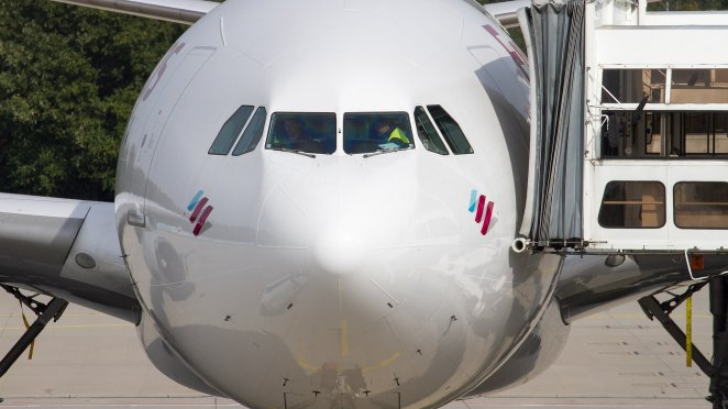 A330 Eurowing par Uwe Fränken sous (CC BY-ND 2.0)