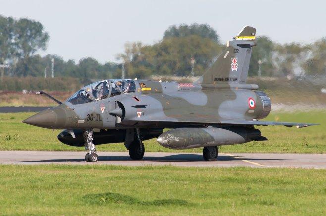 Mirage 2000 D - 622/30-IL par sous (CC BY 2.0)