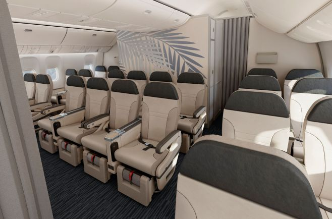 Classe Classe Confort Boeing 777-300 Air Austral