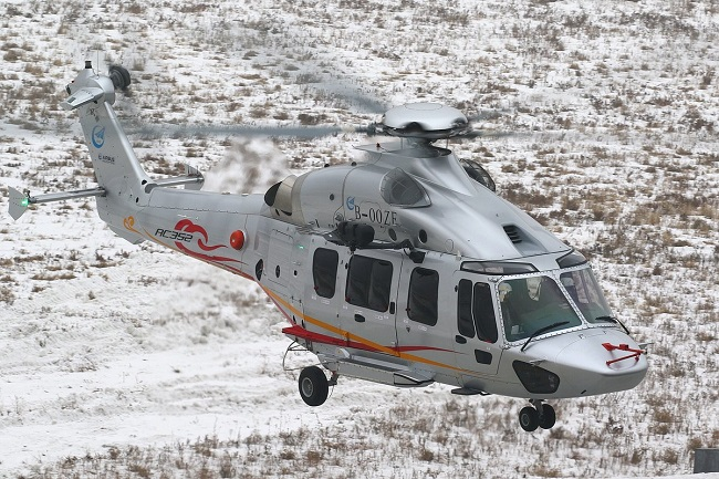 AC352 d'Avicopter - visuel : Safran
