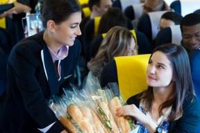 Service à bord des avions ASL France