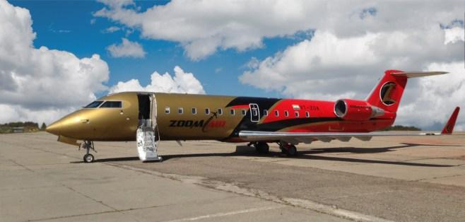 CRJ200 de Zoom Air