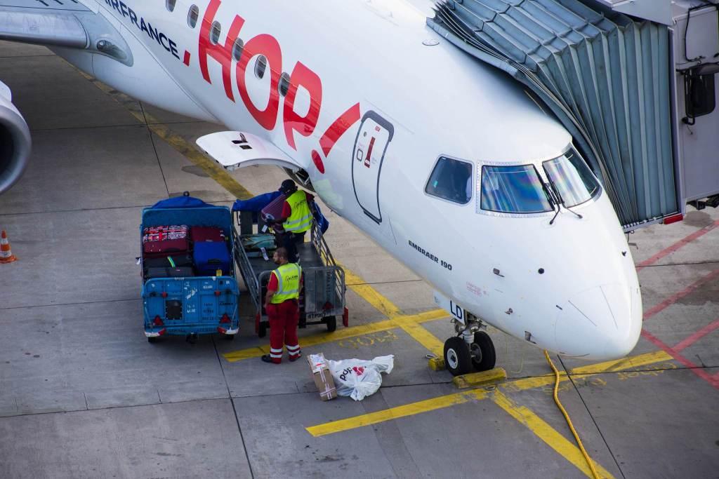 HOP! Embraer ERJ-190LR F-HBLD