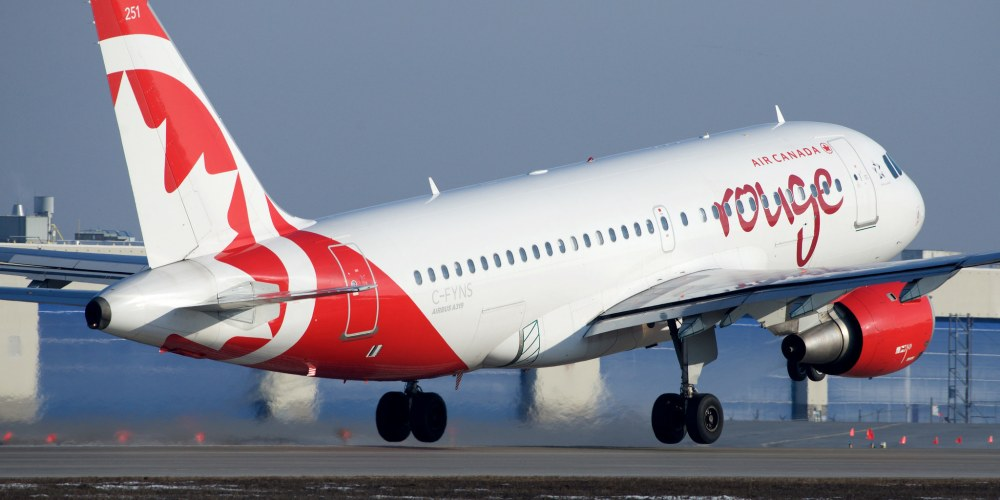 Air Canada Rouge Airbus A319 C-FYNS