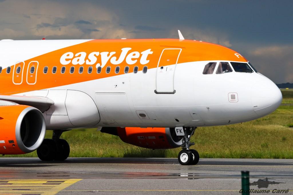 G-EZFK A319 Easyjet