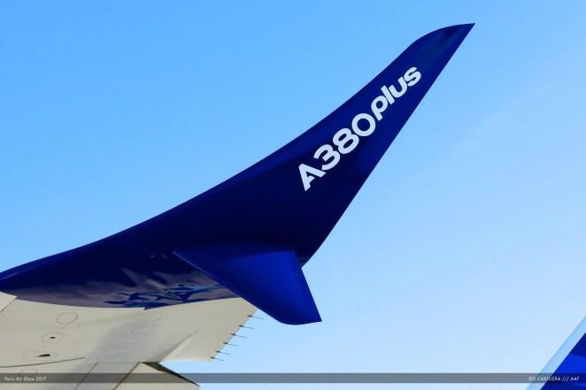 Winglet de l'Airbus A380 Plus