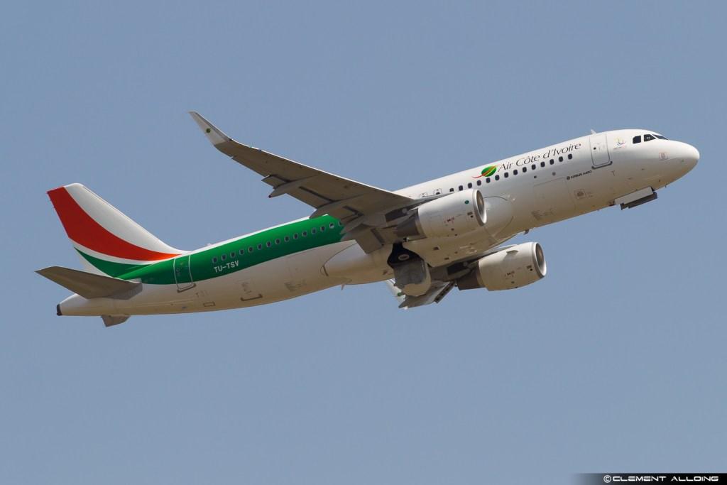 Airbus A320-214(WL) cn 7742 [TU-TSV] Air Côte d'Ivoire