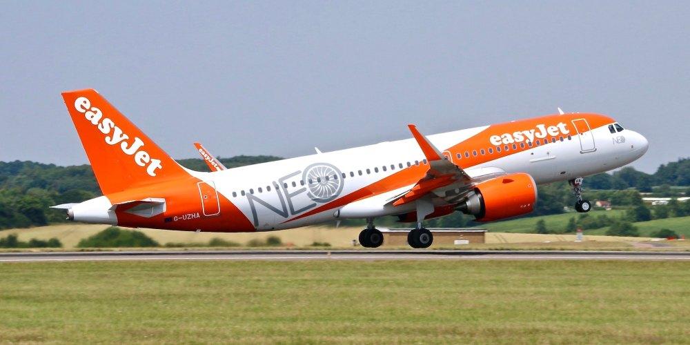 G-UZHA - A320neo easyJet