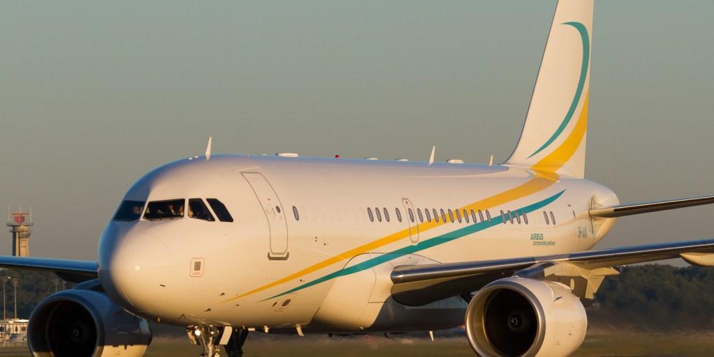 Comlux Malta Airbus A319-115(CJ) cn 4622 9H-AVK
