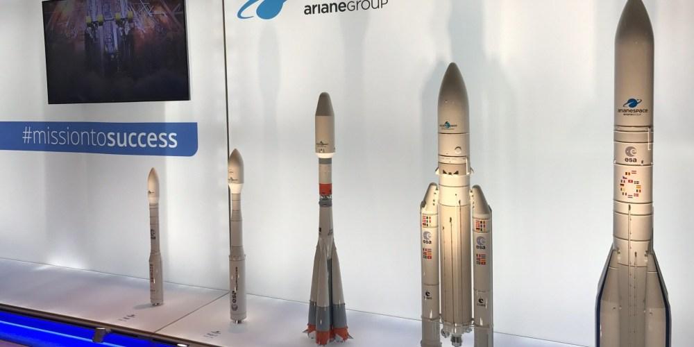 La gamme de lanceur commercialisé par Arianespace