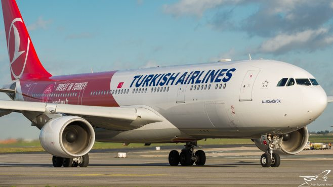 "Airbus A330-223 Turkish Airlines ""Invest in Turkey Livery"" TC-JIZ"