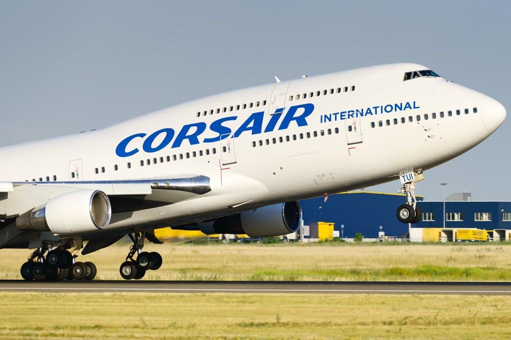 B747 CORSAIR INTERNATIONAL. F-GTUI