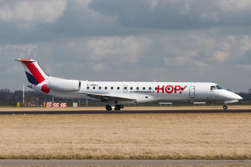 F-GRGJ Embraer 145