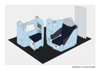 Sièges et cabine Classe Affaires