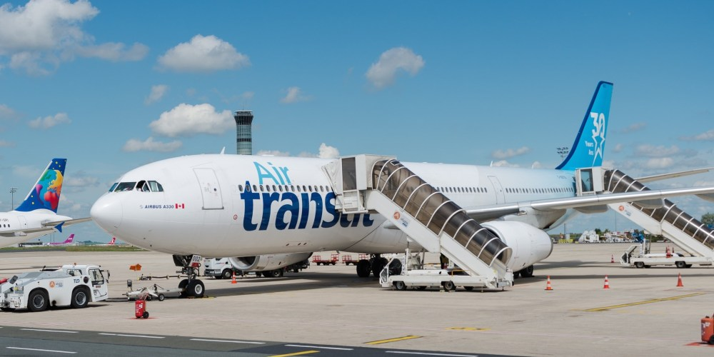 "Airbus A330-342 Air Transat ""30 years livery"" C-GCTS"