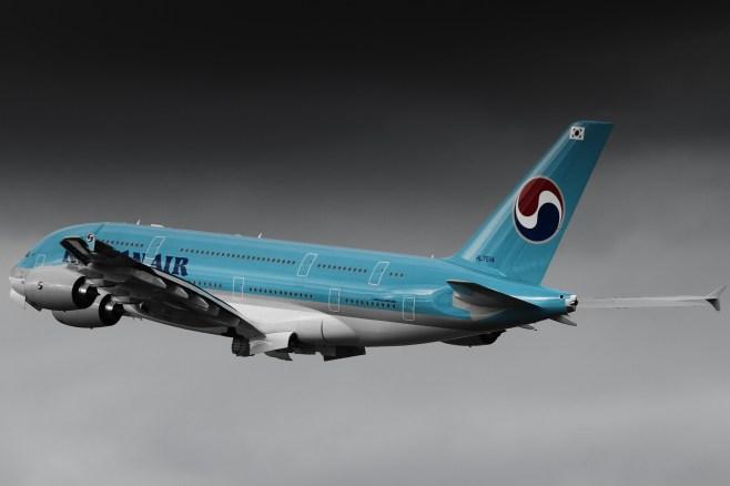 A380 Korean Air / HL-7614 / MSN-68 / le 4e A380 Korean Air reçu en septembre 2011