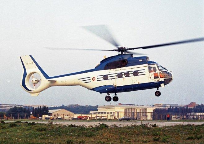 Un gros fenestron sur le SA330 Puma Sud-Aviation