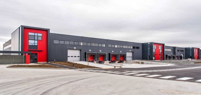 Vue du parc d'activités Roméo en zone Cargo de l'aéroport Paris-Orly