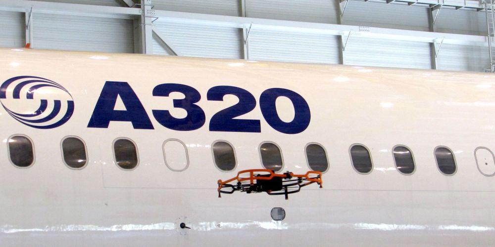 Advanced Inspection Drone par Airbus