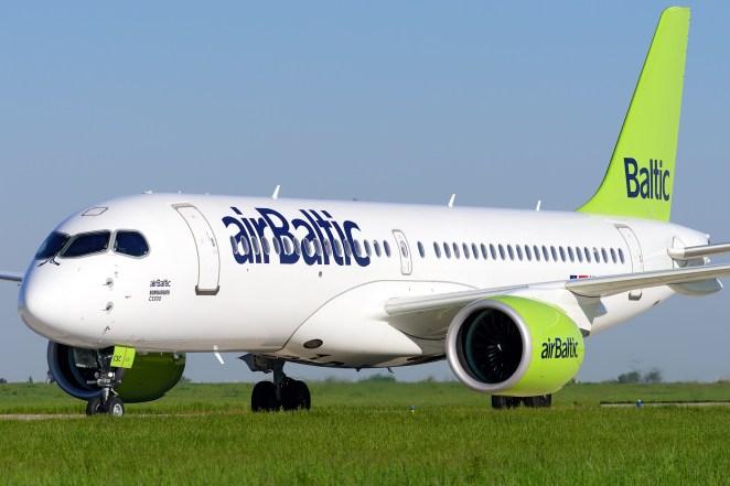Bombardier CS300 airBaltic