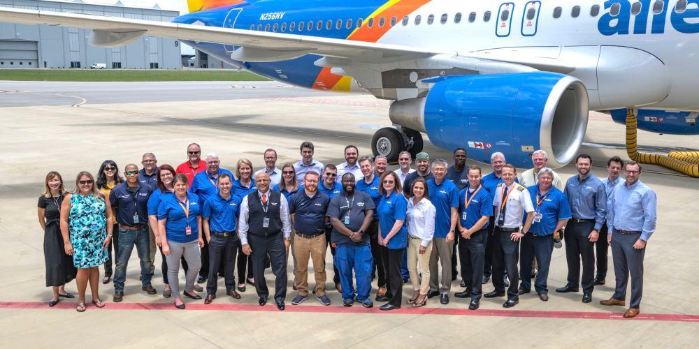 A320 Allegiant Air - N256NV