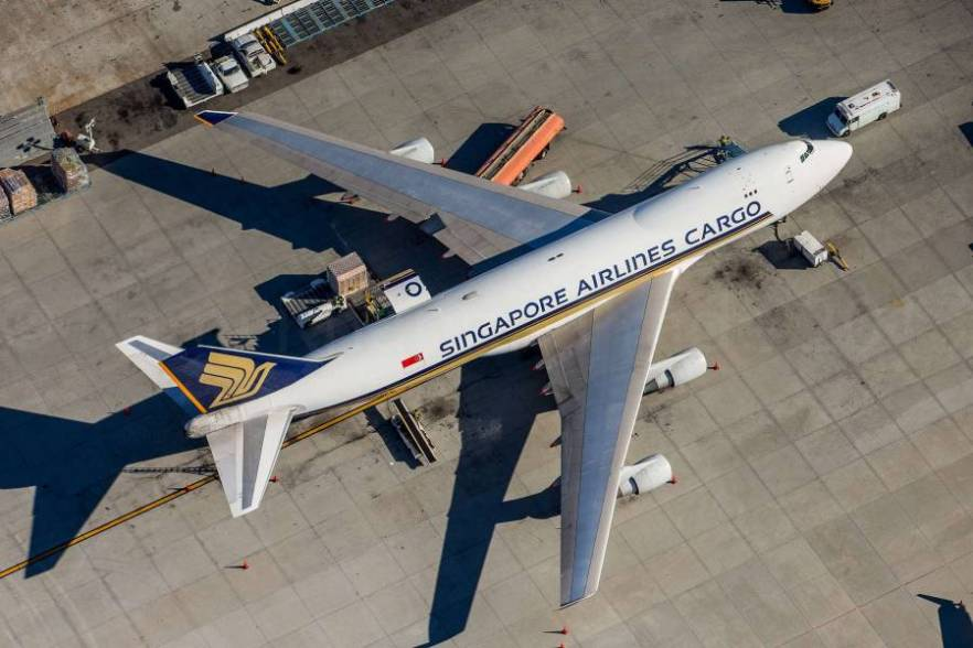Singapore Airlines Cargo B747-412F 9V-SFK / cn 28030