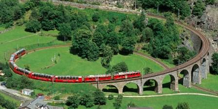 chemin de fer de l'Albula et de la Bernina