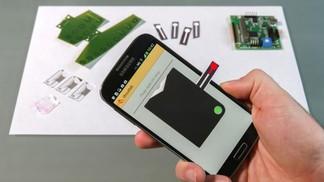 Test de comprobación del INR con un Smartphone