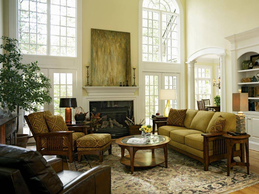 Tips For Designing Traditional Living Room Decor | Actual Home on Living Room Decor  id=90872