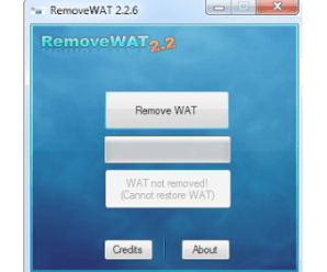 WAT Remover 2.2.6 Rar Full Activator For Windows 7
