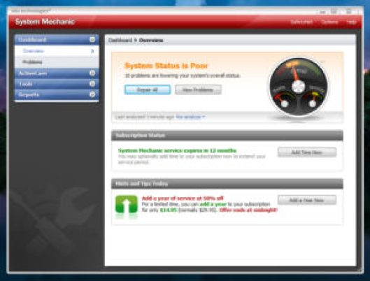 System Mechanic 16.0 Crack plus Activation Key