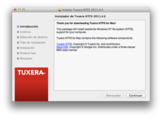 Tuxera NTFS 2017 Product Key + Crack Full Version